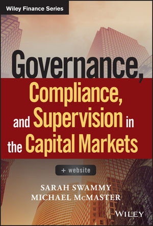 Governance, Compliance and Supervision in the Capital Markets + Website