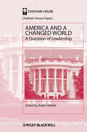 America and a Changed World: A Question of Leadership (1444391550) cover image