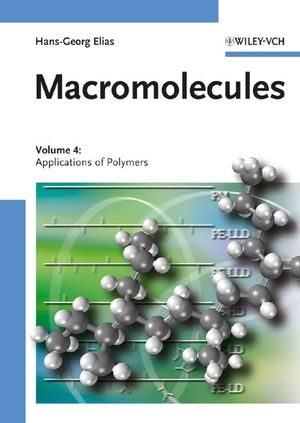Macromolecules: Volume 4: Applications of Polymers  (3527311750) cover image