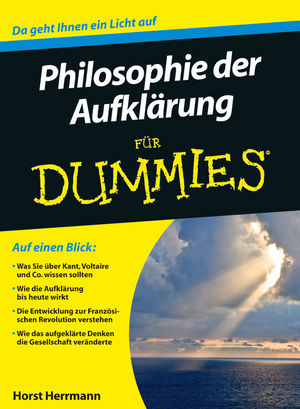 Die Philosophie der Aufklärung für Dummies