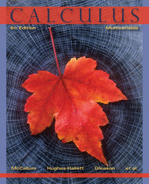 Calculus: Multivariable, 6th Edition (EHEP002450) cover image