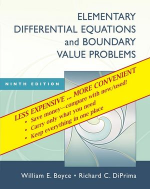 Elementary Differential Equations and Boundary Value Problems, 9th Edition Binder Ready Version