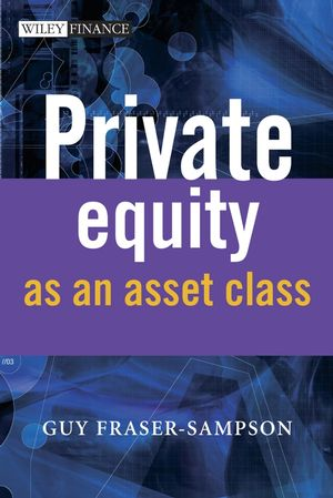Private Equity as an Asset Class (0470687851) cover image