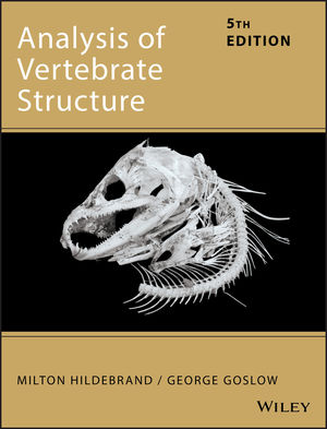 Analysis of Vertebrate Structure, 5th Edition (0471295051) cover image