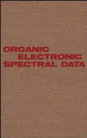 Organic Electronic Spectral Data, Volume 25, 1983