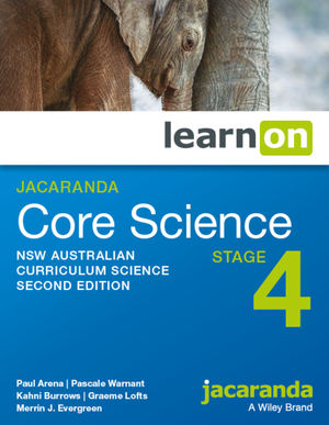 Jacaranda Core Science Stage 4 NSW Australian Curriculum learnON (Online Purchase)