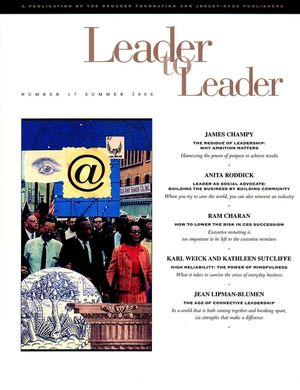 Leader to Leader (LTL), Volume 17, Summer 2000