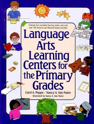 Language Arts Learning Centers for the Primary Grades (0876285051) cover image