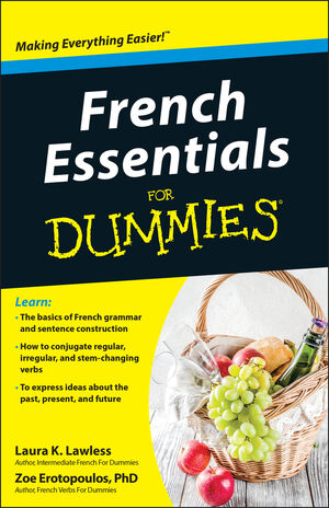 French Essentials For Dummies (1118071751) cover image