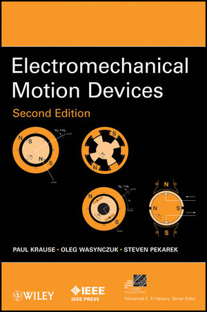 Electromechanical Motion Devices, 2nd Edition (1118316851) cover image