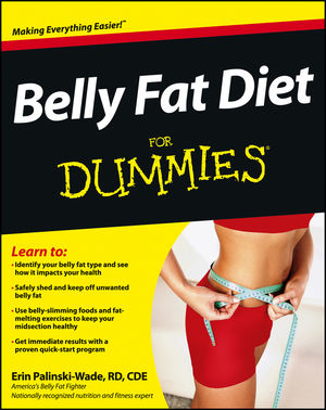 Belly Fat Diet For Dummies (1118345851) cover image