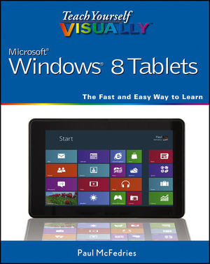 Teach Yourself VISUALLY Windows 8 Tablets (1118374851) cover image