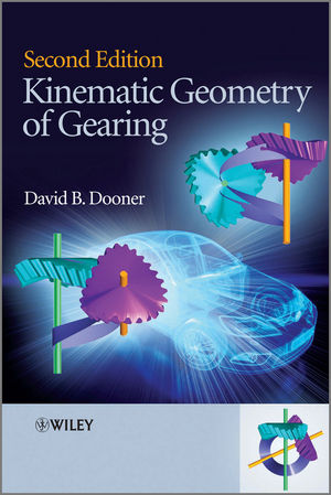 Kinematic Geometry of Gearing, 2nd Edition (1118385551) cover image
