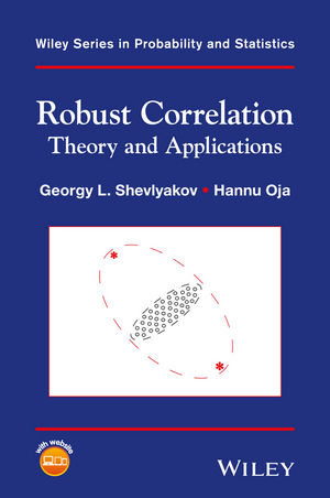 Robust Correlation: Theory and Applications (1118493451) cover image