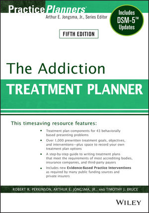 The Addiction Treatment Planner: Includes DSM-5 Updates, 5th Edition (1118816951) cover image