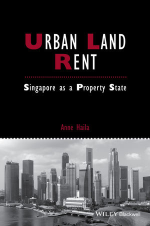 Urban Land Rent: Singapore as a Property State (1118827651) cover image