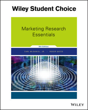 Marketing Research Essentials 9th Edition Marketing Sales