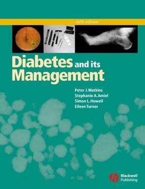 Diabetes and Its Management, 6th Edition (1405107251) cover image