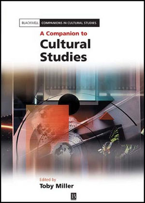 A Companion to Cultural Studies (1405141751) cover image