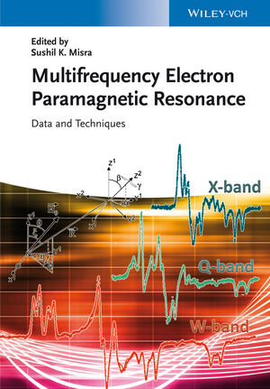 Handbook of Multifrequency Electron Paramagnetic Resonance: Data and Techniques (3527672451) cover image