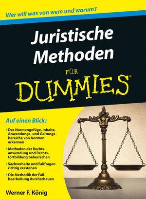 Juristische Methoden für Dummies (3527801251) cover image