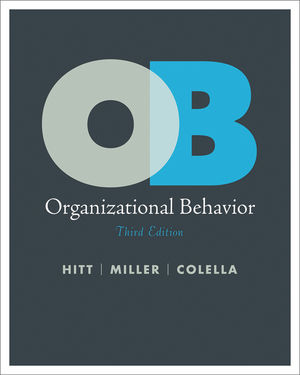 Organizational Behavior, 3rd Edition (EHEP001751) cover image