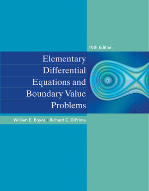 Elementary Differential Equations and Boundary Value Problems, 10th Edition (EHEP002451) cover image
