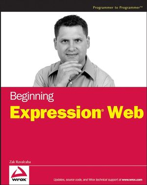 Beginning Expression Web (0470073152) cover image