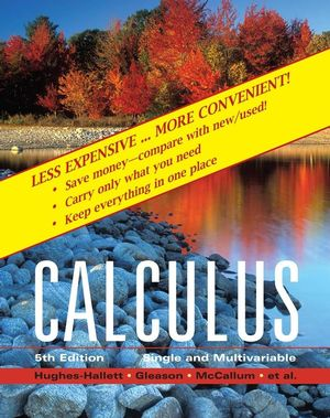 Calculus: Single and Multivariable, 5th Edition Binder Ready Version