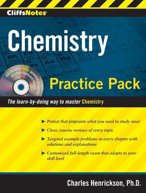 CliffsNotes Chemistry Practice Pack (0470495952) cover image