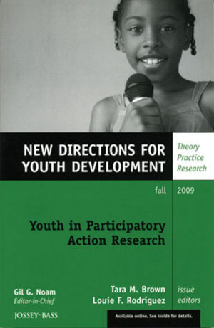 Youth in Participatory Action Research: New Directions for Youth Development, Number 123 (0470576952) cover image