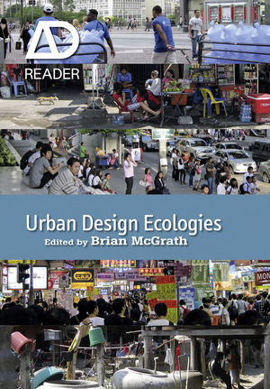 Urban Design Ecologies: AD Reader (0470974052) cover image