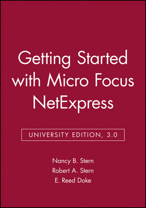 Getting Started with Micro Focus NetExpress, University Edition, 3.0 (0471378852) cover image