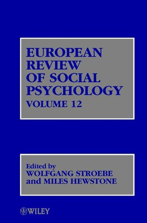 European Review of Social Psychology, Volume 12