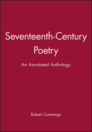 Seventeenth-Century Poetry: An Annotated Anthology