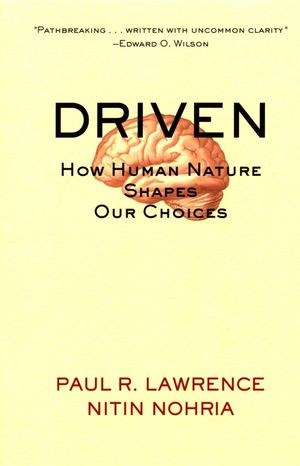 Driven: How Human Nature Shapes Our Choices (0787963852) cover image