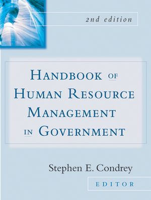 Handbook of Human Resources Management in Government, 2nd Edition (0787977152) cover image