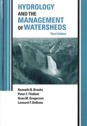 Hydrology and the Management of Watersheds, 3rd Edition (0813829852) cover image