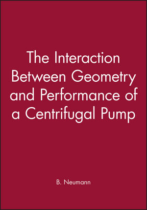 The Interaction Between Geometry and Performance of a Centrifugal Pump
