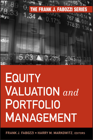 Equity Valuation and Portfolio Management (1118156552) cover image