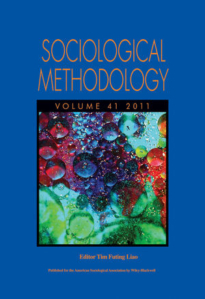 Sociological Methodology, Volume 41, 2011 (1118266552) cover image