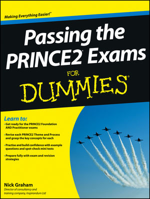Passing the PRINCE2 Exams For Dummies (1118349652) cover image