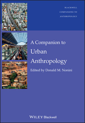 A Companion to Urban Anthropology (1118378652) cover image