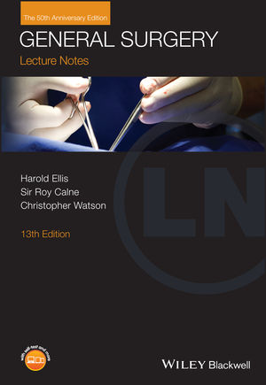 Lecture Notes: General Surgery, with Wiley E-Text, 13th Edition