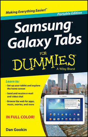 Samsung Galaxy Tabs For Dummies, Portable Edition