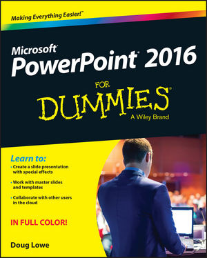 for dummies template book cover - powerpoint 2016 for dummies book information for dummies