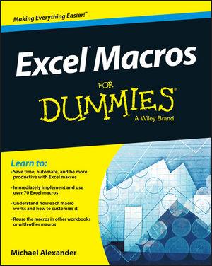 Excel Macros For Dummies Sample Files