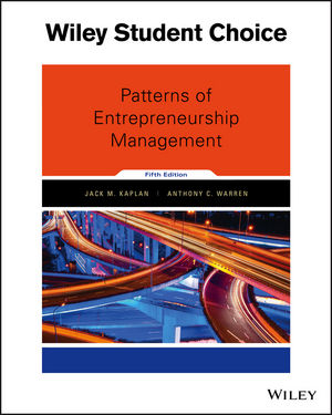 Patterns of Entrepreneurship Management, 5th Edition