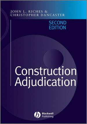 <span class='search-highlight'>Construction</span> Adjudication, 2nd Edition