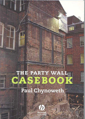The Party Wall Casebook (1405147652) cover image